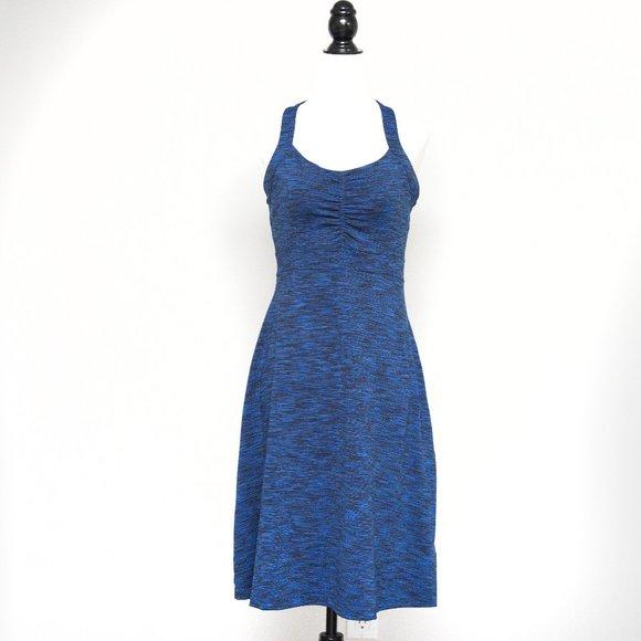 Mondetta Athletic Stretch Dress in Blue